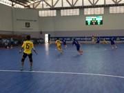 Vietnam women's futsal team train in Japan