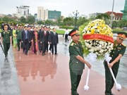 Vietnam's fallen soldiers commemorated in Cambodia