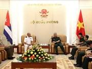 Vietnam, Cuba deepen defence cooperation