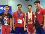 Vietnam wins 25 medals at Asian weightlifting champs