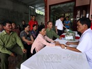 Locals in Dien Bien's border commune receive free health care