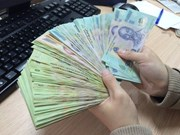 Reference exchange rate down by 1 VND at week's beginning