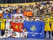 Vietnamese club finish third in futsal tourney