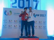 Vietnamese wins World Games' muay championship title