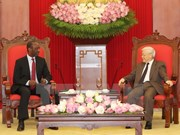 Party chief hopes for deepened ties between VN, Mozambican parties