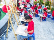 Children prove talent combining mathematics and fine art