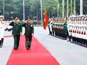 Lao senior military officer visits VN to boost defense partnership