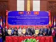 Cambodia-Laos-Vietnam NA committees strengthen cooperation