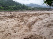 Downpour, floods, landslides ravage northern localities, one dead