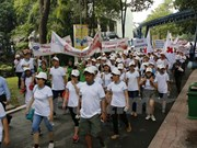 5,000 people walk for AO victims, disabled people
