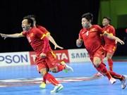 VN futsal teams to face Thailand at SEA Games