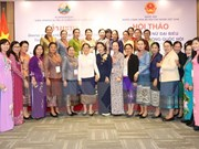 Vietnamese, Lao female lawmakers discuss role in NA's activities