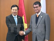 Japan, RoK back Vietnam's security initiatives at AMM-50