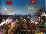 Vietnamese, Chinese villages form twinning relationship
