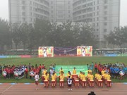 China-ASEAN youth football friendly opens in China