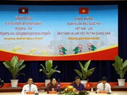 Vietnamese, Lao women parliamentarians visit Quang Nam