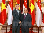 Leaders congratulate Singapore on 52nd National Day