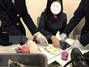 Vietnamese woman arrested for illegal cocaine transportation
