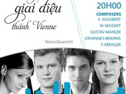 Notos Quartet to perform in Da Nang