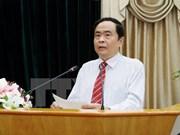 Vietnamese, Lao fronts discuss enhancing ties