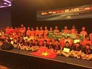 Vietnam wins eight gold medals at int'l maths competition