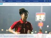 FIFA praises Vietnamese female midfielder