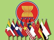 Flag-raising ceremony in Cambodia marks ASEAN's birthday