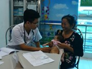 Thai Binh: Poor children get free heart checkups in two-day event