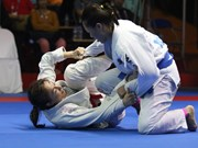 Second Asian Ju-jitsu tourney kicks off in Hanoi