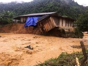 Vietnamese Embassy in Laos supports flood victims at home