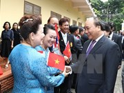 PM lauds friendship role of Vietnamese community in Thailand