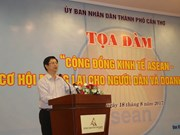 Can Tho wants to capitalise on economic chances in AEC
