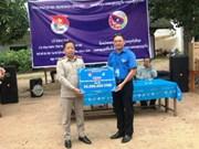 Hanoi's youths begin voluntary activities in Vientiane