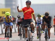 SEA Games 29: Cyclist Nguyen Thi That wins 6th gold for Vietnam
