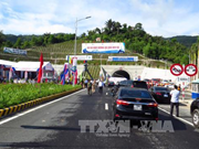 Ca Pass tunnel linking Phu Yen and Khanh Hoa opens to traffic