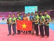 Vietnamese taekwondo artists win bronze medals in Universiade