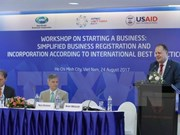 APEC workshop discusses simplifying business registration procedures