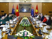 Vietnamese, Australian defence ministers hold talks