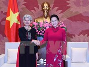 Top legislator welcomes UNESCO leader