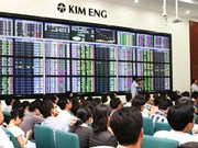 Shares rise for 2nd day on banks