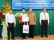 Winners of contest on ASEAN's 50-year history announced