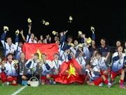Vietnamese women triumph at SEA Games