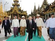 Party chief praises establishment of Myanmar-VN friendship association