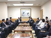 Japanese Communist Party leader welcomes CPV delegation