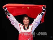 Sea Games 29: Vietnam wins gold in Taekwondo