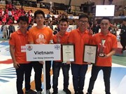Vietnam wins Asia-Pacific robot contest for sixth time