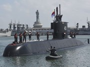 RoK hands over submarine to Indonesian navy