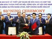 Hanoi, Utah state form cooperative partnership