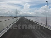 Vietnam's longest sea bridge opens to traffic on National Day