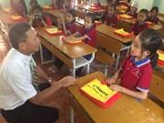 Canon Vietnam upgrades ethnic school in Lang Son